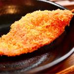串カツ いっとく - 紅ショウガ