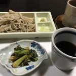 鄙の宿 金宇館 - 料理写真:自家製蕎麦