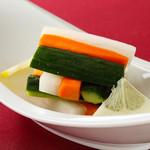 15.野菜の甘酢漬け
