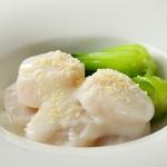 32.ホタテ貝のクリーム煮