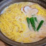鍋焼きラーメン専門店 あきちゃん - 鍋焼きラーメン(大)