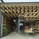 59679066 - たまに行くならこんな店は、2年ぶりに足を運ぶ、隈研吾設計のスターバックス コーヒー 太宰府天満宮表参道店です。