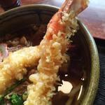 にしかわ - 天ぷら肉うどん 1,600円