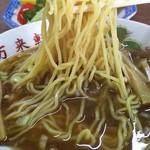 中華料理 萬来軒 - 醤油ラーメン アップ(2016年12月)