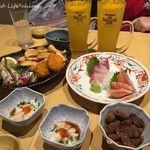 魚の台所 ととぽっぽ - 早得!夕やけセット(900円)16.12月