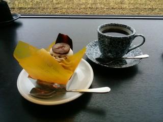 キサキカフェ - モンブラン&アメリカン