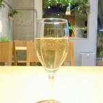 カフェ ボナペティ - 白ワイン¥500