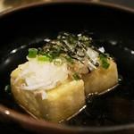 59684656 - お通しは「揚げ出し豆腐」
