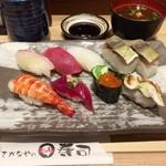 さかなやのmaru寿司 - 平成28年10月10日秋のランチ1,187円税別