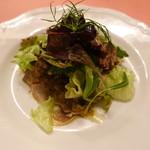 ピッツェリア・サバティーニ - 特選豚タンのマリネ香味野菜ソース