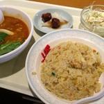 中国料理 百楽 - 平成28年10月12日日替り定食850円税込