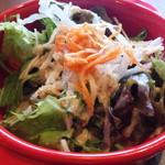ニクバルダカラ - 日替わりランチのサラダ