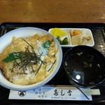 寿し幸 - カツ丼 910円