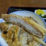 寿し幸 - カツ丼