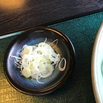 手打ち蕎麦 十喜吉 - 薬味