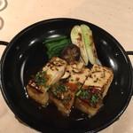 完全個室居酒屋 京こまち - 豆腐ステーキ