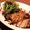 マーノ エ マーノ - 料理写真:ハンガリー産鴨 もも肉のコンフィ  ~ルビーポルトのソース~