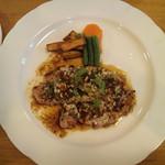 しやんぴによん - 本日のランチ:スープ・サラダ・ライス/パン付き・1,030円