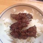 石亭 - 肉をライスに、、