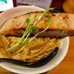 59694904 - 極厚肉山賊麺(大盛)【料理】