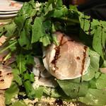 トラットリア・イタリア - 生ハムとルッコラのサラダ バルサミコ