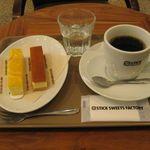 スティック・スイーツ・ファクトリー - チーズケーキとコーヒー(2016.01)