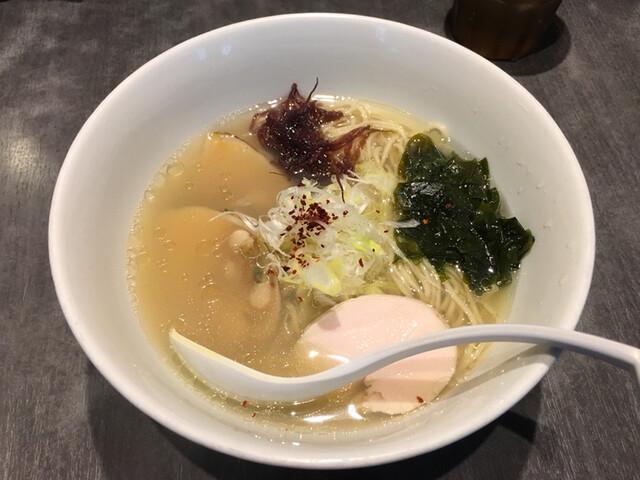 ソラノイロ Japanese soup noodle free style 本店 - 「北海道の実(みのる)麺」1200円(2016年11月)