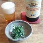 蕎麦と雑穀料理 杜々 - ビール