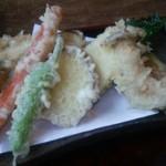蕎麦と雑穀料理 杜々 - 天ぷら
