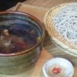 蕎麦と雑穀料理 杜々 - 炙り地鶏のせいろ