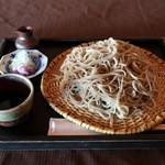 蕎遊庵 - 石臼手挽きそば(大盛)