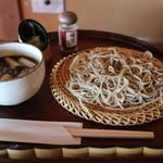 蕎遊庵 - 鴨汁そば