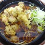 山田屋 - ゲソ蕎麦400円 東京最高峰の路麺かも