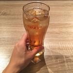 爆汁肉餃子 二代目 龍太郎 - ウーロンハイ @450円 サイズ大きめ!
