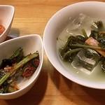 韓国料理 青唐辛子 - キムチ
