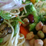 ピッツァ パッツァ - サラダバーの料理