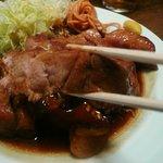 大阪トンテキ - さすがの食べ応え