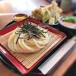手打ちうどんZ - 料理写真:2016 12 天ざるうどん