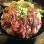 59702221 - ステーキ丼(大・1150円)