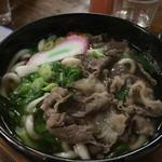 竹の館 - 再訪  肉うどん