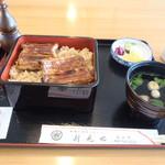 Washokutonadaiunaginoshimmise - 鰻重定食2900えん(税別)