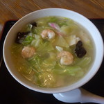 食菜 和ごころ - 料理写真:エビ塩ラーメン