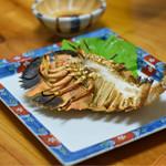 和処 志ほ - ◆パッチエビ  今が旬‼︎ その身の旨味は伊勢エビよりも美味いと。 県外から初宮崎の人達も驚きながら、「美味い美味い」と。グロテスクな姿のエビに喰らい付きます。