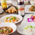 足利 美龍庭/美味中華と旨い酒 - 料理写真:多彩なコース