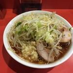 59705544 - ラーメン700円野菜ニンニク
