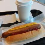 ウエストパークカフェ - ラッキーセット プレーン 720円。