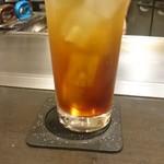 広島風お好み焼 あす香 - ウーロン茶