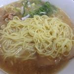 名もないラーメン屋 - 麺、、、旭川麺だよね
