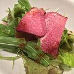 四川飯店 - セットのサラダ