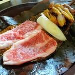 59709925 - 福島牛朴葉焼き